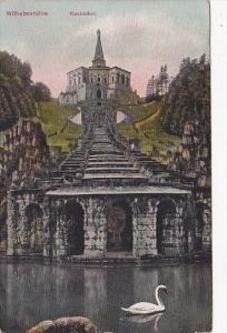 Germany Wilhelmshoehe Kaskaden 1909