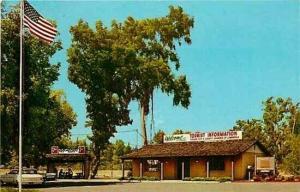 CA, Fresno, California, Fresno, Tourist Information Center,Curteichcolor 7DK-995