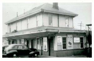 MA - Hyannis, Cape Cod. Railroad Station circa 1940   *RPPC