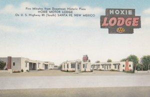 SANTA FE, Hoxie Motor Lodge, New Mexico, 30-40s