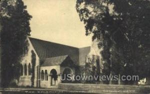The Episcopal Church Stockbridge MA Unused