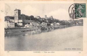 France Cahors Vue de l'Est River Panorama