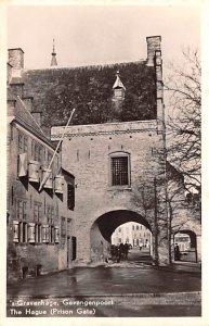The Hauge, Prison Gate Gravenhage Holland Unused