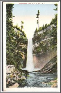 Canada B.C. Brandywine Falls Postcard