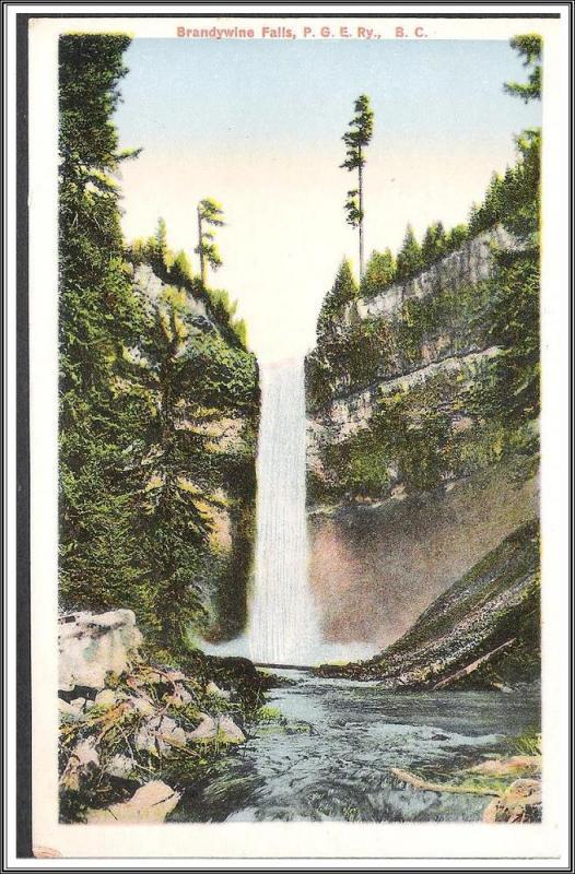 Canada, B.C. - Brandywine Falls - [FG-105]