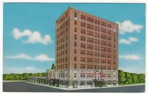 Gadsden, Alabama, View of The Hotel Reich, 1959
