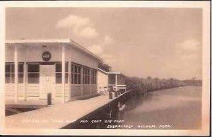 FL Everglades Park Coot Bay Pond Snack Bar RPPC