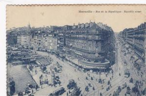 Rue De La Republique, Republic Street, Showing Cinematographic, Marseille (Bo...