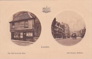 England London The Old Curiosity Shop and Old Houses Holborn