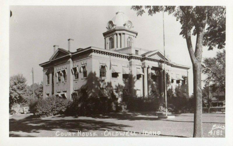 RP: CALDWELL , Idaho , 1930-40s ; Court House : ELLIS 4181