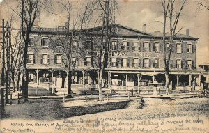 RAHWAY NEW JERSEY~RAHWAY INN~1906 PSMK PHOTO POSTCARD