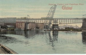 CLEVELAND, Ohio, 1900-10s; Superior Viaduct over Cupahoga River