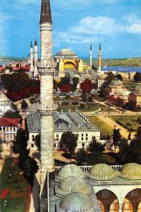 Turkey The St Sophia Museum Aya Sofya Muzesi