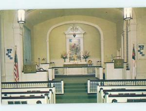 Unused Pre-1980 LUTHERAN HOME CHAPEL Washington DC G3429