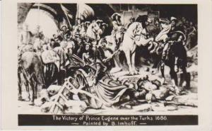 Imhoff Painting: Victory of Prince Eugene of Savoy over the Turks in 1686