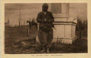 Balkan Types, Young Gypsie Roma Girl (1910s) Postcard