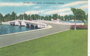 Florida St Petersburg The Snell Isle Bridge 1959