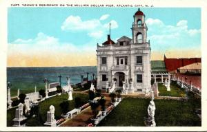 New Jersey Atlantic City Captain Young's Residence On The Million Dollar...