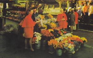 Flower Stand, San Francisco, California, 40-60s