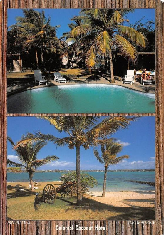 Mauritius Ile Maurice, Colonial Coconut Hotel, Pointe Malartic Grand Baie