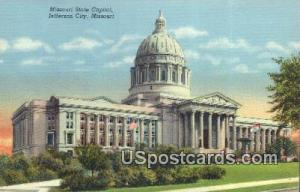 Missouri State Capitol Jefferson City MO 1949