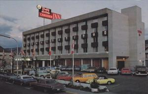 Exterior,  Delta´s Canadian Inn,  Kamloops,   B.C.,  Canada,   40-60s