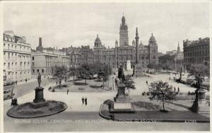 George Square,Cenotaph,and Municipal Buildings Glasgow, Scotland,00-10s