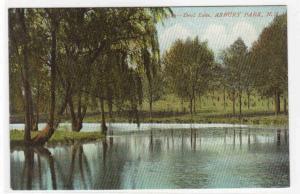 Deal Lake Asbury Park New Jersey 1910c #2 postcard