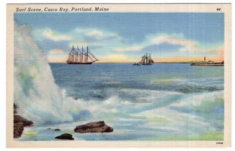 Portland, Maine, Surf Scene, Casco Bay