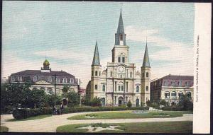 St Louis Cathedral New Orleans Louisiana unused c1905