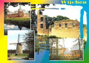 Netherlands Wijchen Hernen Batenburg Leur Muhle Mill Castle Ruins Eglise