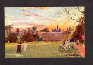 UK Trinity College Oxford University England United Kingdom British Postcard