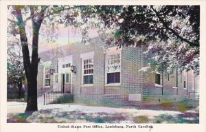 Post Office Louisburg North Carolina