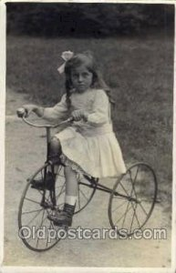 Chidren on Bicycles, tricycles Unused