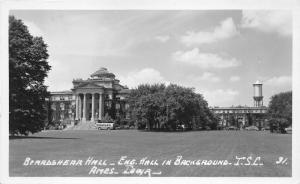 Ames Iowa State University/College~Beardshear Hall~Engineer Hall~Bus~1940s RPPC