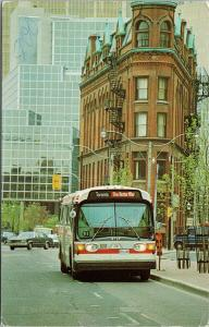 TTC Toronto Transit Commission Bus The Better Way Ontario ON Postcard F3 *as is