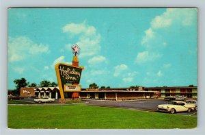 Gary IN- Indiana, Holiday Inn, Advertising, Chrome c1963Postcard