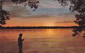 Fisherman's Sunset MB, Manitoba, Canada