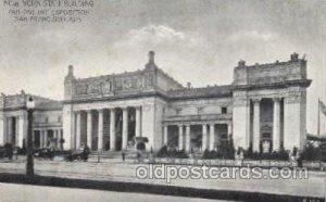 Panama - California Exposition, San Diego 1915, Unused