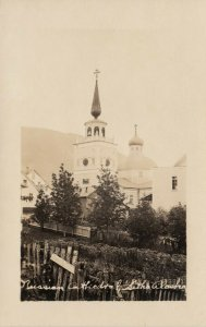 RP , SITKA , Alaska , 1910s ; Russian Cathedral