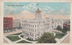 BLOOMINGTON, Illinois, PU-1929; Court House