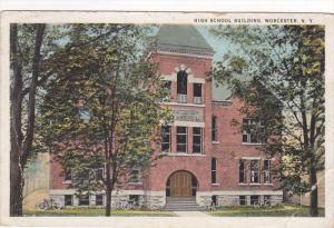 High School Building, Worcester, New York, PU-1931