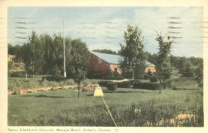 Nancy Island and Grounds - Wasaga Beach, Ontario, Canada - pm 1952