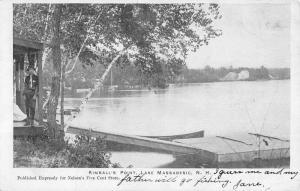 Lake Massabesic New Hampshire Kimballs Point Antique Postcard K41199