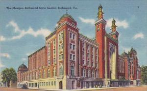 The Mosque Richmond Civic Center Richmond Virginia
