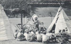 The Indian Village Camp Miller Shawnee-On-Delaware Pennsylvania Artvue