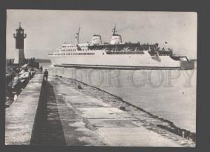 092444 GERMANY Molenkopf  LIGHTHOUSE & ship Sassnitz Old PC