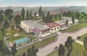 Hacienda Hotel and Bungalows Rancho Santa Fe California Albertype