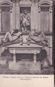 Italy Firenze Cappella Medicee Tomba di Giuliano de' Medici