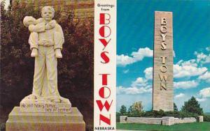 Nebraska Boys Town Greetings From Boys Town